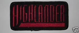 Highlander The Series TV Logo Patch P248