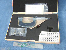 Thread Micrometer 1 2 Withstandard With12 Anvils Mitutoyo 126 902 Over 980 If New