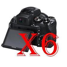 6 PZ PELLICOLA PROTEZIONE DISPLAY FUJIFILM FinePix HS30EXR PROTEGGI SCHERMO LCD