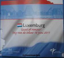 Luxemburg Euro Kursmünzensatz 2011 Dag van de Munt Guest KMS 1 Cent bis 2 Euro