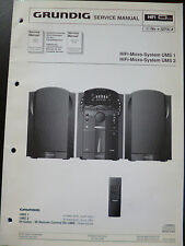 Original Service Manual Grundig UMS-1 UMS2