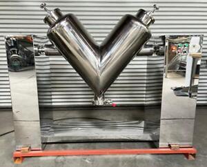 LFA (VH500) 140kg (308lbs) Semi-Automatic Industrial Dry Powder Mixer