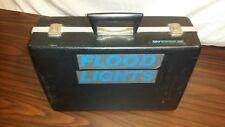 """Smith Victor-Hot Light Set w/3 Model 700 Flood Lights, 72"""" stands & locking case"""