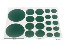 Almohadillas de fieltro surtidos Auto Adhesivo 20 por hoja 1 Hojas