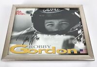 Robby Gordon Autographed Signed 8x10 picture, No Fear