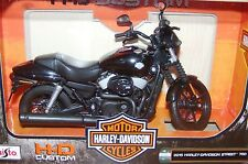 Maisto - 2015 Harley Davidson Street 750 - 1:12