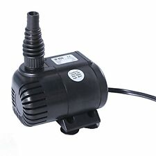 315 GPH Submersible Pump Aquarium Fish Tank Powerhead Fountain Water Hydroponic