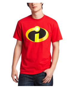 The Incredibles Logo Men Red T-Shirt