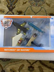 Matchbox Sky Busters 4-Pack Diecast Airplanes Set