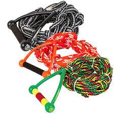 "O'Brien 9"" Relax Surf Rope - Wakesurf - Black/Yellow/Red/Green"
