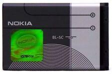 New Nokia Battery BL-5C Battery 1020 mAh +BOX packing