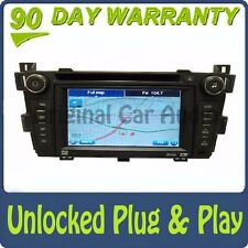 Unlocked CADILLAC SRX GPS Navigation Radio Stereo 6 Disc Changer CD DVD Player