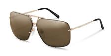Authentic Porsche Design P 8928 B Gold/Brown&Black Lens Gradient Sunglasses