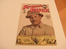Frank Buck (1950) #70 [#1] May 1950 3 Wally Wood Pencils Stories Fox Comics VG-