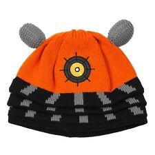 DOCTOR WHO ORANGE DALEK BEANIE Knit Cosplay Cap Hat (020540)