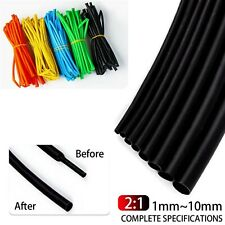 5m Heat Shrink 1 10mm Electrical Tubing Sleeving Wrap Wire 21 Connector Repair