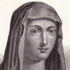 Portrait XIXe Properzia de' Rossi Rinascimento Renaissance Sculpture Scluptrice