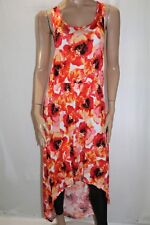HUG + Brand Red Poppy Sleeveless High Low Maxi Dress Plus Size 3X BNWT #LIN