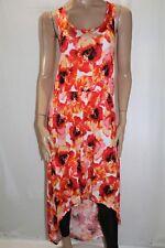 HUG + Brand Red Poppy Sleeveless High Low Maxi Dress Plus Size 2X BNWT #LIN