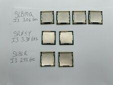 Lot of 8 Mixed Intel Core i3  2126, 530, 540 CPU Desktop Processors 1155&1156