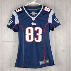 Women's New England Patriots Wes Welker #83 Nike On Field Jersey Size XS