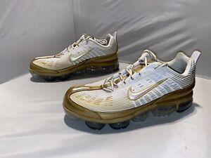 Nike Air Vapormax 360 white metallic gold size 12.5