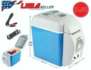 7.5L 12V Portable Car Freezer Fridge Cooler Outdoor Camping Refrigerator Travel
