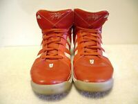 Adidas Dwight Howard  White Red Basketball High Top Shoes Men's Size 13