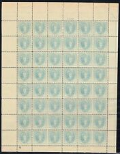 #796 SHEET OF 48 1937 3c VIRGINIA DARE ISSUE--MINT-OG/NH--SOME PERF SEPS