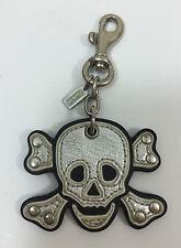 COACH SKULL Key Fob Key Charm~VERY RARE COLLECTIBLE!