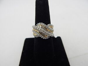 10 KT Yellow Gold  DIAMOND BAND 1.00 CTW   Size 7  Ring  NEW  AMR071-7
