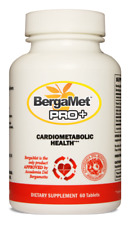 NEW STRONGER BERGAMET PRO+ 60T - REDUCE CHOLESTEROL + FREE SHIPPING AU