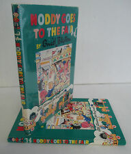 NODDY GOES TO THE FAIR by Enid Blyton circa 1970 in DJ, Illustrated
