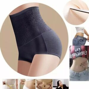 High Waist Body Shaper Panties Butt-lift Tummy Belly Control Girdle Shapewear