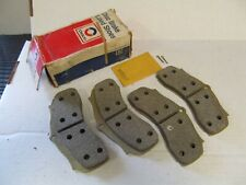 1967-1968 Chevy Malibu Nova Cutlass 442 GS GTO NOS GM Disc Brake Pad Set 5470879