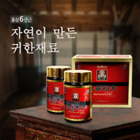 Korean 6 Years Old Red Ginseng Extract Powder 110g Health Saponin Ginsenoside
