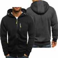 HOT Mens Warm Hoodie Hooded Sweatshirt Coat Jacket Outwear Jumper Winter Sweater