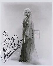 "Mamie Van Doren American actress Great Signed 8""x 10"" B&W PHOTO REPRINT"