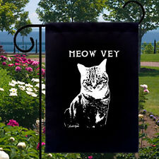 Meow Vey Cat NEW Small Garden Flag Banner Decor Gifts Fun Events