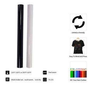 Bundle 2colors Heat Transfer Vinyl Iron-on Heat Press Vinyl HTV T-Shirt