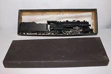Brass Made in Japan 2-8-2 Steam Locomotive with Tender, Nice Original