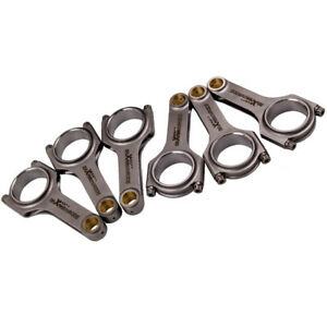 Performance Conrods for Audi VW 3.0T EA839 V6 24v TFSI H Beam Connecting Rods