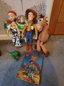 Toy Story Bundle Woody Jessie Bullseye Buzz Rex