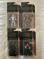 "Star Wars Black Series 3.75"" Darth Plagueis Mara Jade Merumeru Trooper Hasbro"