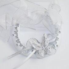 Wedding Glitter Butterfly and Diamante Horseshoe