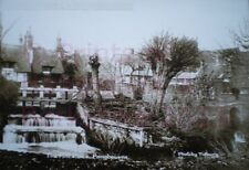 PRINT 10 X 7  THE MILL SLUICE PANGBOURNE BERKSHIRE c1916