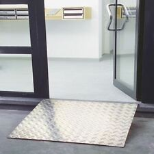 More details for aluminium ramp 800x800mm capacity 300kg 309607 [sby05614]