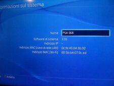 CONSOLE SONY PS4 PLAYSTATION 4 500GB JET BLACK 3.55 4.05 4.74 5.05 JAILBREAK HEN