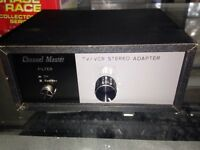 channel master stereo adapter