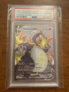 2021 Pokemon - Shiny Charizard VMAX - Shining Fates #107/SV122 - PSA10 GEM MINT